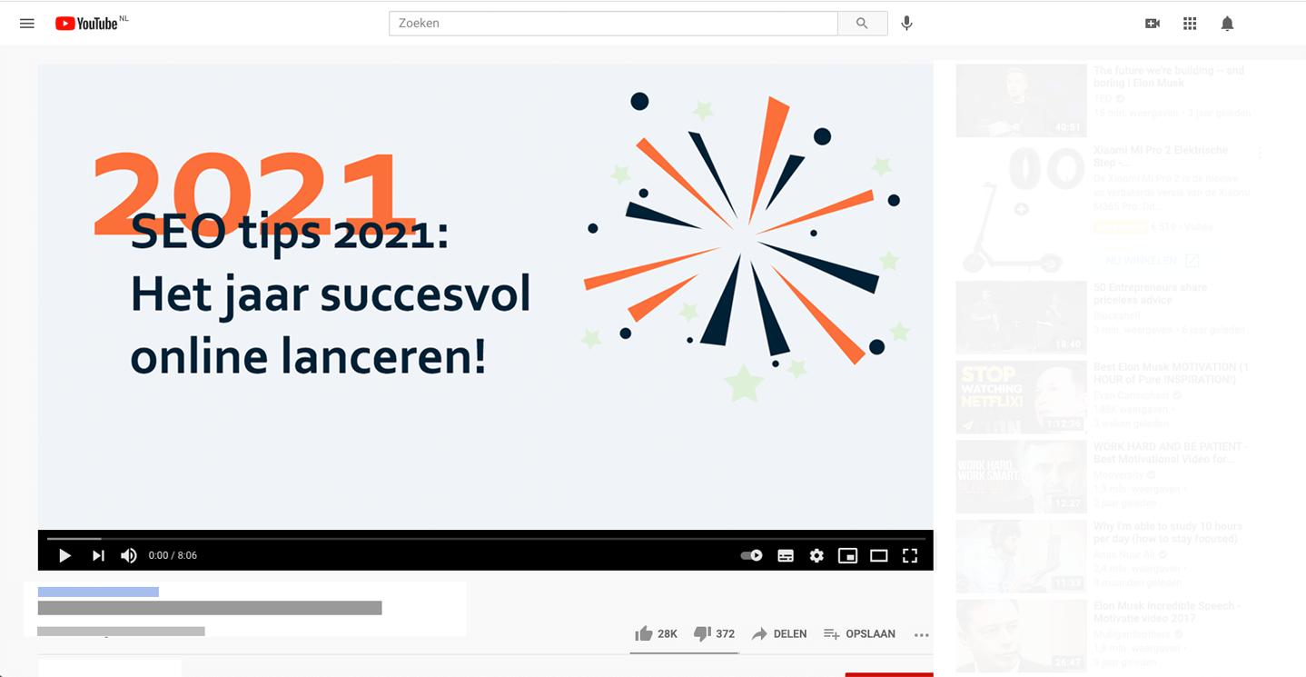 Video marketing - SEO tips 2021